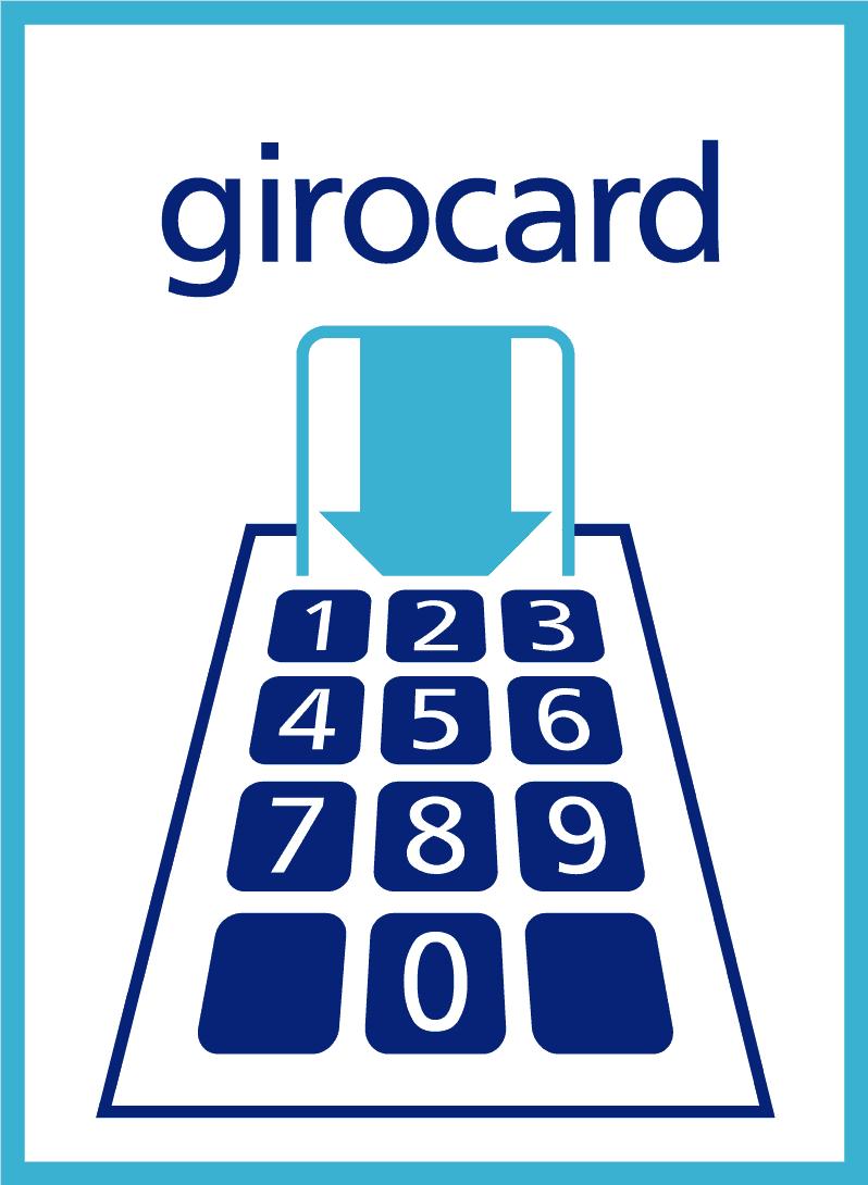 Ab sofort EC-Cash/Girocard-Zahlung möglich